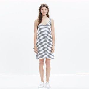 Madewell Knit Tank Dress Striped Size M